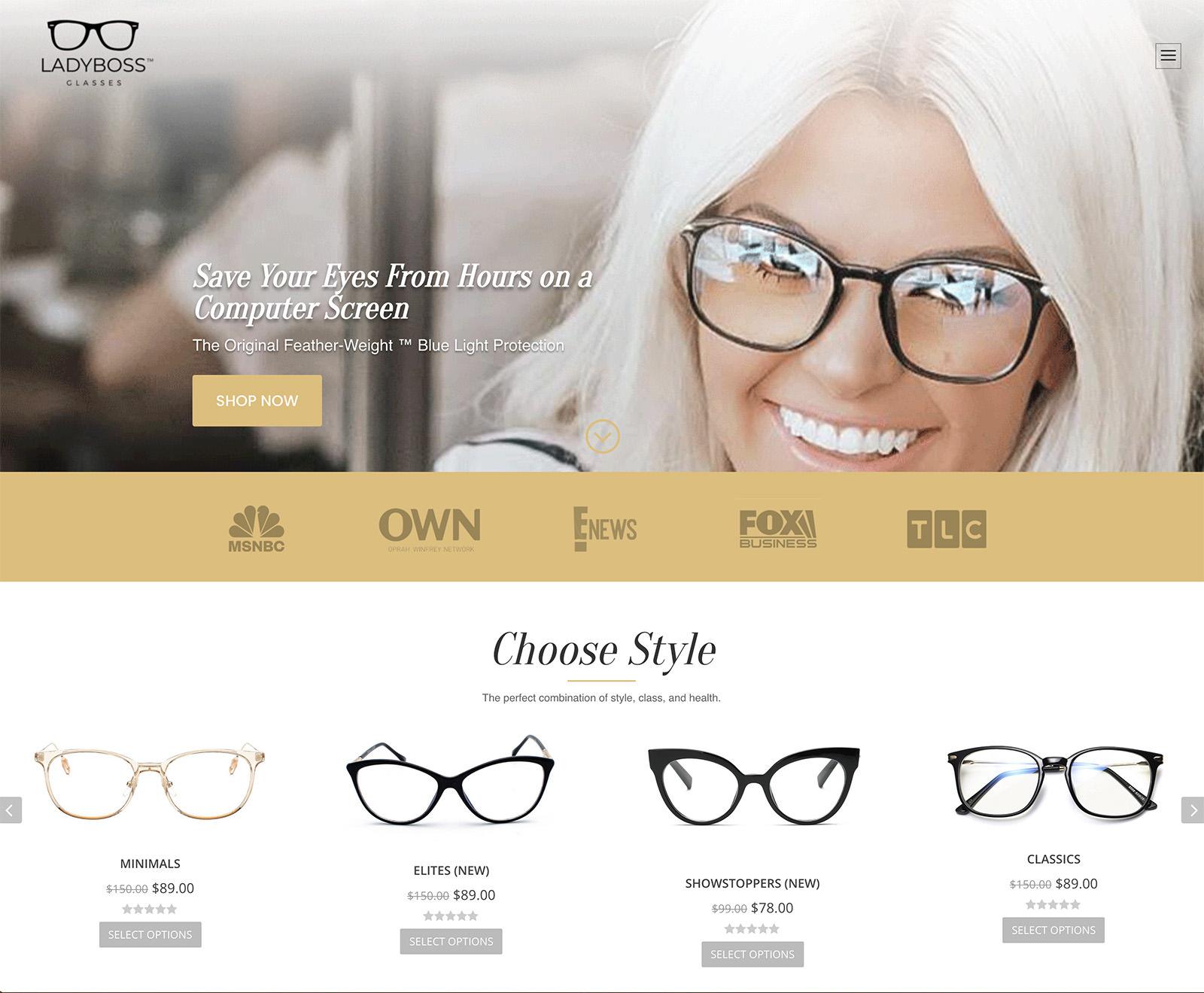 LadyBoss Glasses