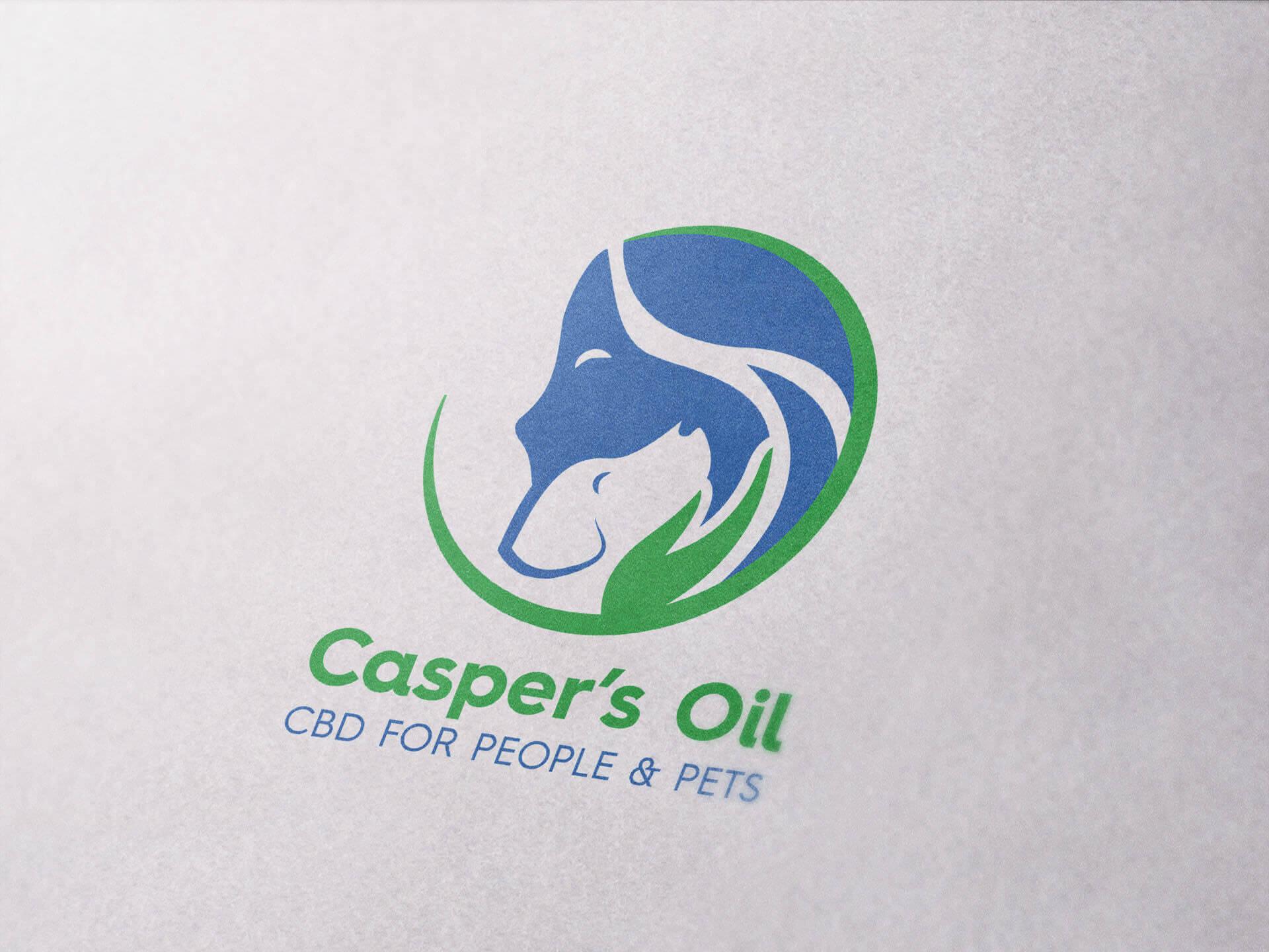 BMGcreative - Casper's Oil Logo Redesign