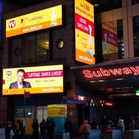 BMGcreative - Times Square LifeVac